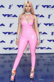 Pink Photo - (FILE) Nicki Minaj Renamed Her Tour To The Nicki WRLD Tour And Replaced Future With Juice WRLD Nicki Minaj has finally revealed details surrounding her upcoming world tour The Nicki WRLD Tour Nicki has swapped out rap superstar Future with Chicago rap star Juice WRLD and she has cleverly renamed the outing from NickiHndrxx to The Nicki WRLD Tour INGLEWOOD LOS ANGELES CA USA - AUGUST 27 Rapper Nicki Minaj wearing a pink Vex Latex bodysuit arrives at the 2017 MTV Video Music Awards held at The Forum on August 27 2017 in Inglewood Los Angeles California United States (Photo by Xavier CollinImage Press Agency)