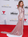Andrea Minski Photo - LAS VEGAS NEVADA USA - APRIL 25 Andrea Minski arrives at the 2019 Billboard Latin Music Awards held at the Mandalay Bay Events Center on April 25 2019 in Las Vegas Nevada United States (Photo by Xavier CollinImage Press Agency)