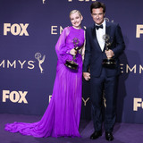 Jason Bateman Photo - LOS ANGELES CALIFORNIA USA - SEPTEMBER 22 Julia Garner and Jason Bateman pose in the press room at the 71st Annual Primetime Emmy Awards held at Microsoft Theater LA Live on September 22 2019 in Los Angeles California United States (Photo by Xavier CollinImage Press Agency)