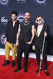 Adam Levine Photo - LOS ANGELES CALIFORNIA USA - NOVEMBER 24 Adam Levin Sam Harris and Casey Harris of X Ambassadors arrive at the 2019 American Music Awards held at Microsoft Theatre LA Live on November 24 2019 in Los Angeles California United States (Photo by Xavier CollinImage Press Agency)
