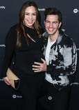 Andy Grammer Photo - WEST HOLLYWOOD LOS ANGELES CALIFORNIA USA - JANUARY 23 Aijia Lise and Andy Grammer arrive at the Spotify Best New Artist 2020 Party held at The Lot Studios on January 23 2020 in West Hollywood Los Angeles California United States (Photo by Xavier CollinImage Press Agency)