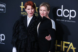 Renee Zellweger Photo - BEVERLY HILLS LOS ANGELES CALIFORNIA USA - NOVEMBER 03 Singer Jessie Buckley and actress Renee Zellweger arrive at the 23rd Annual Hollywood Film Awards held at The Beverly Hilton Hotel on November 3 2019 in Beverly Hills Los Angeles California United States (Photo by Xavier CollinImage Press Agency)