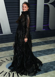 Sasha Lane Photo - BEVERLY HILLS LOS ANGELES CA USA - FEBRUARY 24 Actress Sasha Lane wearing a Valentino dress arrives at the 2019 Vanity Fair Oscar Party held at the Wallis Annenberg Center for the Performing Arts on February 24 2019 in Beverly Hills Los Angeles California United States (Photo by Xavier CollinImage Press Agency)