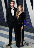 Wallis Annenberg Photo - (FILE) Miley Cyrus and Liam Hemsworth Split BEVERLY HILLS LOS ANGELES CALIFORNIA USA - FEBRUARY 24 Singer Miley Cyrus and husbandactor Liam Hemsworth arrive at the 2019 Vanity Fair Oscar Party held at the Wallis Annenberg Center for the Performing Arts on February 24 2019 in Beverly Hills Los Angeles California United States (Photo by Xavier CollinImage Press Agency)