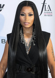 Front Row Photo - (FILE) Nicki Minaj Announces Retirement On Twitter WEST HOLLYWOOD LOS ANGELES CA USA - APRIL 02 Rapper Nicki Minaj arrives at the Daily Front Rows 3rd Annual Fashion Los Angeles Awards held at the Sunset Tower Hotel on April 2 2017 in West Hollywood Los Angeles California United States (Photo by Xavier CollinImage Press Agency)