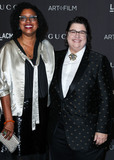 Catherine Opie Photo - LOS ANGELES CA USA - NOVEMBER 03 Robin Coste Lewis Catherine Opie at the 2018 LACMA Art  Film Gala held at the Los Angeles County Museum of Art on November 3 2018 in Los Angeles California United States (Photo by Xavier CollinImage Press Agency)