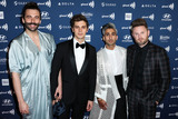 Antoni Porowski Photo - BEVERLY HILLS LOS ANGELES CALIFORNIA USA - MARCH 28 Jonathan Van Ness Antoni Porowski Tan France and Bobby Berk arrive at the 30th Annual GLAAD Media Awards held at The Beverly Hilton Hotel on March 28 2019 in Beverly Hills Los Angeles California United States (Photo by Xavier CollinImage Press Agency)