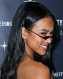 Karrueche Tran Photo - WEST HOLLYWOOD LOS ANGELES CA USA - NOVEMBER 05 Karrueche Tran at the PrettyLittleThing X Hailey Baldwin Launch Event held at Catch LA Restaurant on November 5 2018 in West Hollywood Los Angeles California United States (Photo by Xavier CollinImage Press Agency)