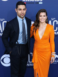 Danica Patrick Photo - LAS VEGAS NEVADA USA - APRIL 07 Wilmer Valderrama and Danica Patrick arrive at the 54th Academy Of Country Music Awards held at the MGM Grand Garden Arena on April 7 2019 in Las Vegas Nevada United States (Photo by Xavier CollinImage Press Agency)