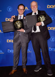 Andy Fisher Photo - LOS ANGELES CALIFORNIA USA - JANUARY 25 Andy Fisher and James Burrows pose in the press room at the 72nd Annual Directors Guild Of America Awards held at The Ritz-Carlton Hotel at LA Live on January 25 2020 in Los Angeles California United States (Photo by Image Press Agency)
