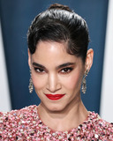 Valentino Photo - BEVERLY HILLS LOS ANGELES CALIFORNIA USA - FEBRUARY 09 Actress Sofia Boutella wearing Valentino and Neil Lane jewelry arrives at the 2020 Vanity Fair Oscar Party held at the Wallis Annenberg Center for the Performing Arts on February 9 2020 in Beverly Hills Los Angeles California United States (Photo by Xavier CollinImage Press Agency)