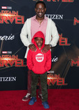 Andrew Brown Photo - HOLLYWOOD LOS ANGELES CA USA - MARCH 04 Actor Sterling K Brown and son Andrew Brown arrive at the World Premiere Of Marvel Studios Captain Marvel held at the El Capitan Theatre on March 4 2019 in Hollywood Los Angeles California United States (Photo by Xavier CollinImage Press Agency)