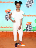 Akira Akbar Photo - LOS ANGELES CA USA - MARCH 23 Akira Akbar arrives at Nickelodeons 2019 Kids Choice Awards held at the USC Galen Center on March 23 2019 in Los Angeles California United States (Photo by Xavier CollinImage Press Agency)