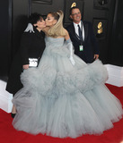 Ariana Grande Photo - LOS ANGELES CALIFORNIA USA - JANUARY 26 Joan Grande Ariana Grande and Edward Butera arrive at the 62nd Annual GRAMMY Awards held at Staples Center on January 26 2020 in Los Angeles California United States (Photo by Xavier CollinImage Press Agency)