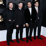 Patrick Stump Photo - LOS ANGELES CA USA - FEBRUARY 10 Patrick Stump Andy Hurley Pete Wentz and Joe Trohman of Fall Out Boy arrive at the 61st Annual GRAMMY Awards held at Staples Center on February 10 2019 in Los Angeles California United States (Photo by Xavier CollinImage Press Agency)