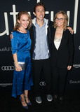 Amy Ryan Photo - BEVERLY HILLS LOS ANGELES CA USA - OCTOBER 08 Amy Ryan Nic Sheff Vicki Sheff at the Los Angeles Premiere Of Amazon Studios Beautiful Boy held at the Samuel Goldwyn Theater at The Academy of Motion Picture Arts and Sciences on October 8 2018 in Beverly Hills Los Angeles California United States (Photo by Image Press Agency)