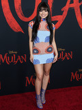 Ariel Yasmine Photo - HOLLYWOOD LOS ANGELES CALIFORNIA USA - MARCH 09 Ariel Yasmine arrives at the World Premiere Of Disneys Mulan held at the El Capitan Theatre and Dolby Theatre on March 9 2020 in Hollywood Los Angeles California United States (Photo by Xavier CollinImage Press Agency)
