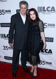 Priscilla Presley Photo - BEVERLY HILLS LOS ANGELES CALIFORNIA USA - OCTOBER 19 Chris DeRose and Priscilla Presley arrive at the Last Chance For Animals 35th Anniversary Gala held at The Beverly Hilton Hotel on October 19 2019 in Beverly Hills Los Angeles California United States (Photo by Xavier CollinImage Press Agency)