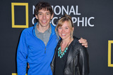 The National Photo - LOS ANGELES CALIFORNIA USA - JUNE 02 Alex Honnold and Sanni McCandless arrive at the National Geographics Contenders Showcase held at The Greek Theatre on June 2 2019 in Los Angeles California United States (Photo by Image Press Agency)