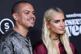 Ashlee Simpson Photo - LOS ANGELES CALIFORNIA USA - AUGUST 01 Actor Evan Ross and wifesinger Ashlee Simpson Ross arrive at the Weedmaps Museum of Weed Exclusive Preview Celebration held at Weedmaps Museum of Weed on August 1 2019 in Los Angeles California United States (Photo by Xavier CollinImage Press Agency)