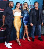 Jamie Foxx Photo - WESTWOOD LOS ANGELES CALIFORNIA USA - AUGUST 13 Jamie Foxx Corinne Foxx Sistine Rose Stallone and Sylvester Stallone arrive at the Los Angeles Premiere Of Entertainment Studios 47 Meters Down Uncaged held at the Regency Village Theatre on August 13 2019 in Westwood Los Angeles California United States (Photo by Xavier CollinImage Press Agency)