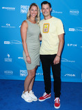 Ashley Park Photo - LOS ANGELES CALIFORNIA USA - AUGUST 08 Ashley Parks and husbandprofessional baseball pitcher Joe Kelly arrive at Clayton Kershaws 7th Annual Ping Pong 4 Purpose Fundraiser held at Dodger Stadium on August 8 2019 in Los Angeles California United States (Photo by Xavier CollinImage Press Agency)