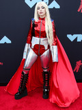 Ava Max Photo - NEWARK NEW JERSEY USA - AUGUST 26 Singer Ava Max wearing a Kaimin outfit arrives at the 2019 MTV Video Music Awards held at the Prudential Center on August 26 2019 in Newark New Jersey United States (Photo by Xavier CollinImage Press Agency)