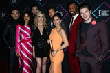 Alberto Rosende Photo - SANTA MONICA LOS ANGELES CA USA - NOVEMBER 11 Matthew Daddario Alberto Rosende Alisha Wainwright Katherine McNamara Harry Shum Jr Emeraude Toubia Isaiah Mustafa Dominic Sherwood Shadowhunters The Mortal Instruments in the press room at the Peoples Choice Awards 2018 held at Barker Hangar on November 11 2018 in Santa Monica Los Angeles California United States (Photo by Xavier CollinImage Press Agency)