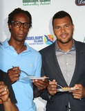 Jo Wilfried Tsonga Photo - The 15th Annual Taste of Tennis Gala the W New York Hotel NYC August 21 2014 Photos by Sonia Moskowitz Globe Photos Inc 2014 Gael Monfils Jo-wilfried Tsonga