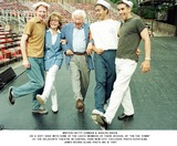 Betty Comden Photo - Writers Betty Comden  Adolph Green Do a Soft Shoe with Some of the Casts Members of There Revival of on the Town at the Delacorte Theatre in Central Park New City Exclusive Photo K20478jbe James Bevins Globe Phots Inc