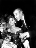 James Stewart Photo - James Stewart and His Wife Gloria at the Cocoanut Grove SmpGlobe Photos Inc