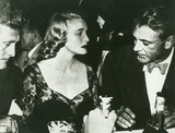 Gary Cooper Photo - Gary Cooper and Patricia Neal with Kirk Douglas at Supper Party in Mocambo Photo by Globe Photos Inc Patricianealretro