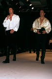 Antonio Sabato Jr Photo - Gianfranco Ferre Fashion Show Photo Fitzroy Barrett-Globe Photos Inc 1995 Patrick Dempsey Antonio Sabato Jr