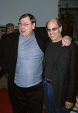 Alan Rachins Photo -  NBC LA Law the Movie Screening Museum of Television and Radio Beverly Hills CA 04292002 Larry Drake and Alan Rachins Photo by Milan RybaGlobe Photosinc