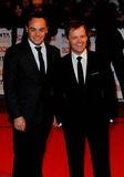 Anthony McPartlin Photo - Anthony Mcpartlin  Declan Donnelly - Ant  Dec Tv Presenters National Television Awards 2010 O2 Arena London England January 20 2010 Photo by Neil Tingle-allstar-Globe Photos Inc 2010