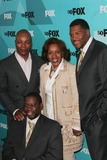 Carl Weathers Photo - Brothers Cast Daryl Mitchell with Carl Weathers  Michael Strahan Fox 2009 Programming Presentation Post Party at Wollman Rink  Central Park in New York City 05-18-2009 Photo by John B Zissel-ipol-Globe Photos Inc