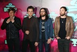 Jared Followill Photo - Matthew Followill (l-r) Jared Followill Nathan Followill and Caleb Followill of Kings of Leon Arrive at the 2013 Mtv Emas Aka Mtv Europe Music Awards at Ziggo Dome in Amsterdam Netherlands on 10 November 2013 Photo Alec Michael