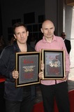 The Smashing Pumpkins Photo - Jimmy Chamberlin and Billy Corgan During the Induction Ceremony For the Smashing Pumpkins Into Hollywoods Rockwalk on April 23 2008 in Los Angeles Photo by Michael Germana-Globe Photos