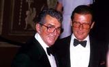Dean Martin Photo - Roger Moore and Dean Martin Photo John Barrett - Globe Photos Inc 1986 Rogermooreretro