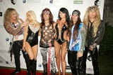 Steel Panther Photo - Max Jacques Entertainment Presents Fight Night Rock the Mansion Playboy Mansion Bel-air CA 08272011 Steel Panther and Dj Sarah Robertson Photo Clinton H Wallace-ipol-Globe Photos Inc