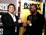 Antonio Tarver Photo - Sylvester Stallone Antonio Tarver Actors K51081 World Premiere of Rocky Balboa at Graumans Chinese Theatre Hollywood  CA 12-13-2006 Photo by Allstar-Globe Photosinc