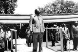Amine Photo - Idi Amin at a May Day Rally in Uganda CpGlobe Photos Inc