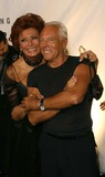 SOFIA LOREN Photo - Sofia Loren and Giorgio Armani - Rodeo Drive Walk of Style Honors Giorgio Armani with a Gala and an Award- Rodeo Drive Beverly Hills CA - 09092003 - Photo by Nina PrommerGlobe Photos Inc 2003