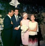 Jeanne Martin Photo - Janet Leighbob Brandt Wedding with Dean  Jeanne Martin Photo Globe Photos Inc