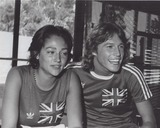 Andy Gibb Photo - Olivia Hussey with Andy Gibb Photo by Pt-Globe Photos Inc