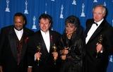 Alan Menken Photo - Sd03-29-1993 65th Annual Academey Awards Quincy Jones_alan Menken_lena Horne_tim Rice 1993 Photo by Michael FergusonGlobe Photosinc Quincyjonesretro