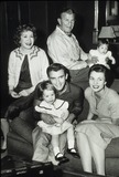 Gracie Allen Photo - George Burns with Gracie Allen  Son Ronnie His Wife and Kid Supplied by Globe Photos Inc