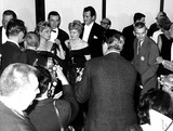 Rock Hudson Photo - Simore Signout Shelly Winters John Wayne and Rock Hudson 32nd Academy Awards (Oscars) Supplied ByGlobe Photos Inc