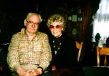 Art Carney Photo -  1996 Art Carney Wwife Jean at Home in Westbrook Conn Photo by Bill a CrespinelGlobe Photosinc