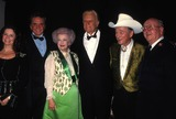 Roy Rogers Photo - Johnny Cash with Wife June Carter Cash Dale Evans Billy Graham Roy Rogers and David Riley Photo by Lisa RoseGlobe Photos Inc 1993 Johnnycashretro
